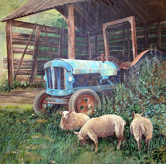 Blue Tractor 610mm x 610mm.jpg