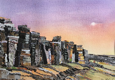 Early_morning_at_Stanage_54x44cm_Collage
