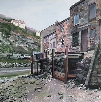 STAITHES_VIEW_-ACRYLIC_-60x60cm-_£125.J
