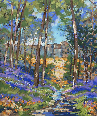 Bluebell_walk_towards_Stanage_Edge._Past