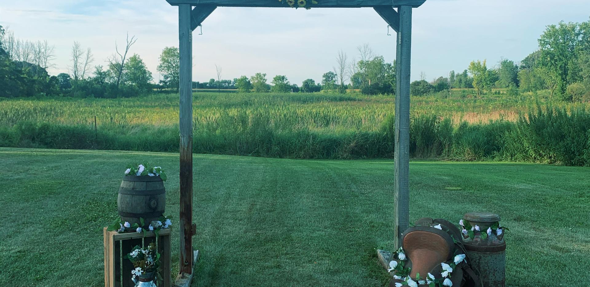Grassy Field Ceremony Spot