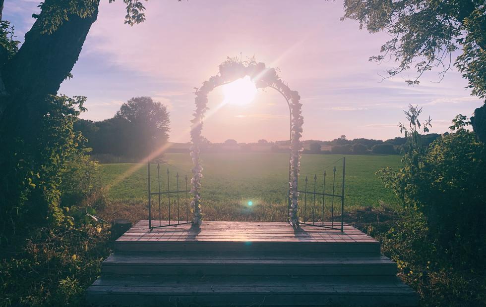 Sunset Ceremony Spot