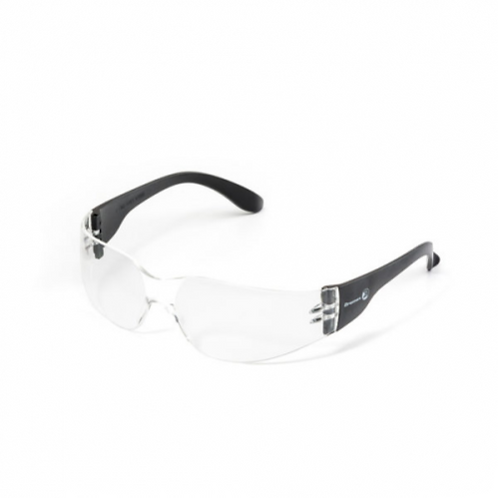 Sporty protective eyewear clear