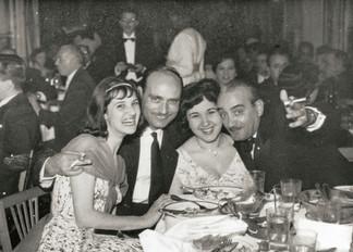 Alexandrian friends in a night club