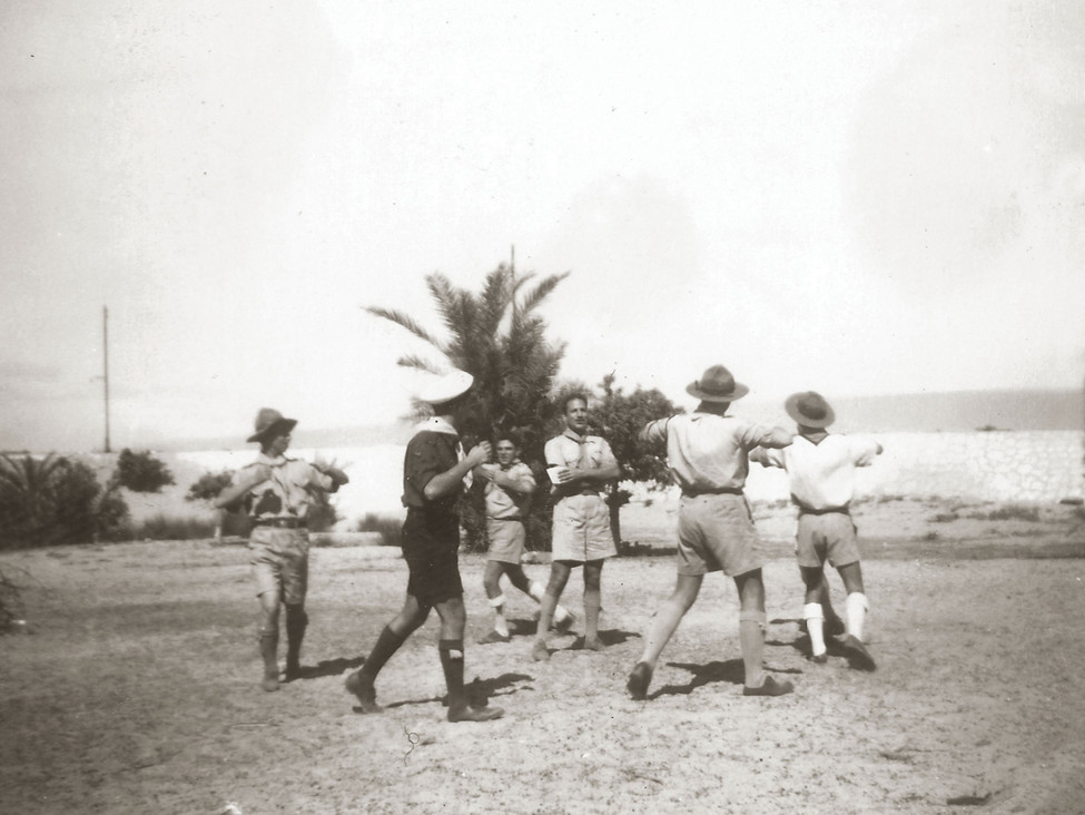 Boy scouts games