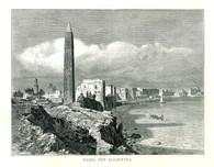 The obelisk of Caesareum