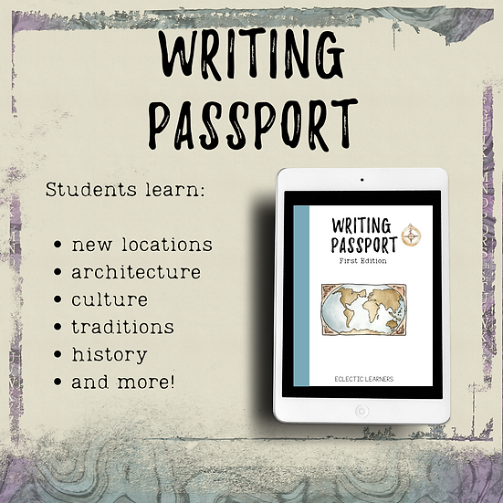WRITING PASSPORT || 1st Edition