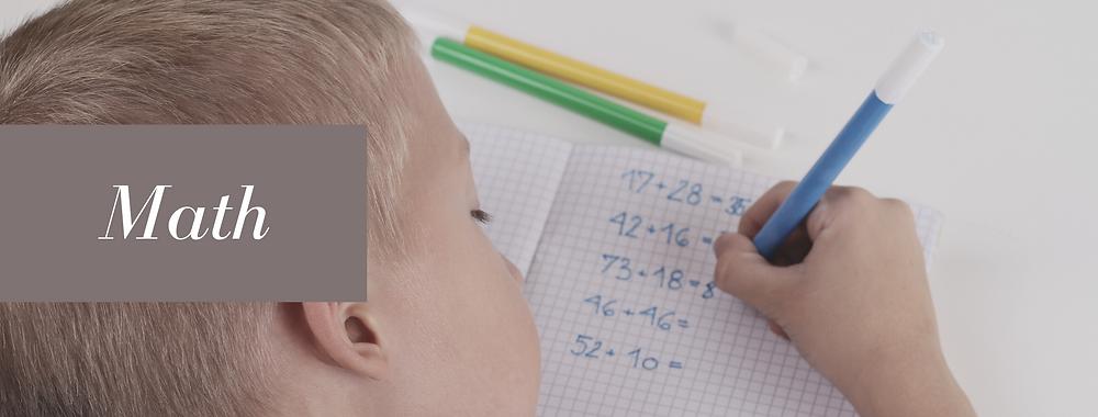 Math Daily Homeschool Schedule Rhythm