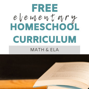 Free Elementary Homeschool Curriculum - Math and ELA || Eclectic Learners
