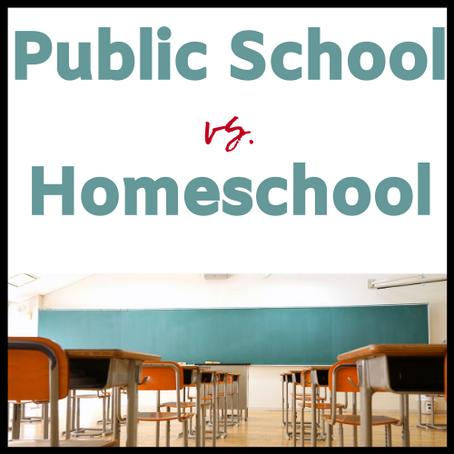 Homeschool vs. Public School