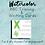 Thumbnail: Watercolor ABC Cards || Writing & Tracing