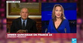Հանրապետության նախագահ Արմեն Սարգսյանը հարցազրույց է տվել ֆրանսիական France 24 հեռուստաընկերությանը