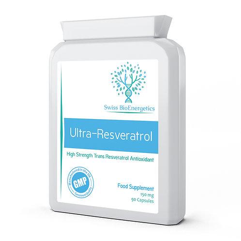 Ultra-Resveratrol 150mg Trans-Resveratrol