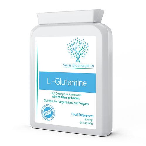 L-Glutamine , 500mg 90 Capsules