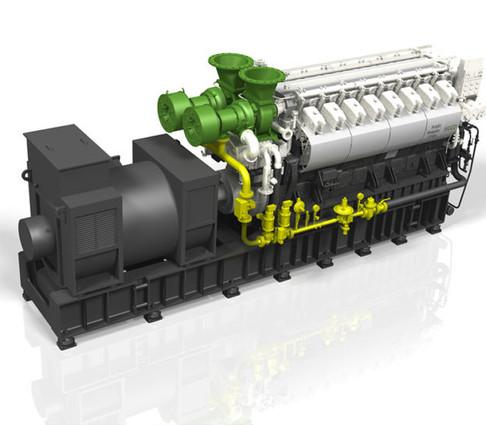 ABC dual fuel 16DZD genset