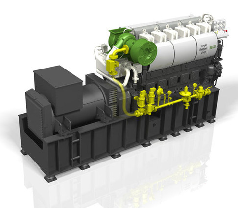 ABC dual fuel 6DZD genset