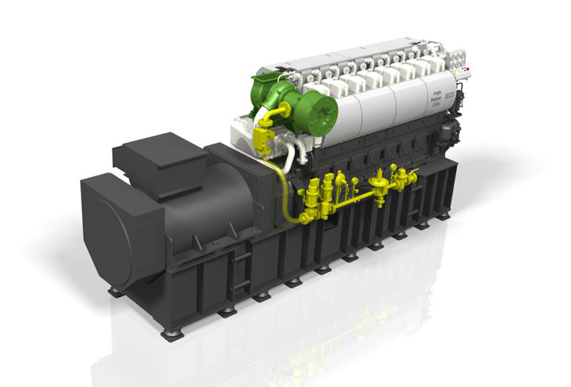 ABC dual fuel 8DZD genset