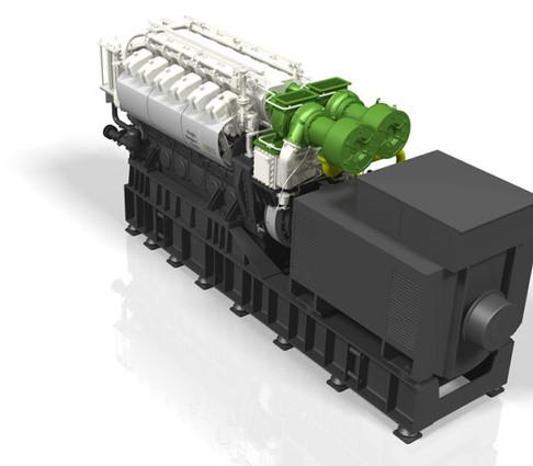 ABC dual fuel 12DZD genset