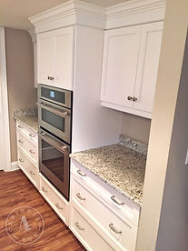 custom painted cabinets