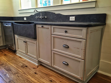 Custom Farmhouse kitchen cabinets wood