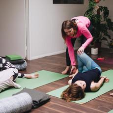 Gentle adjustments to help you understand the practice