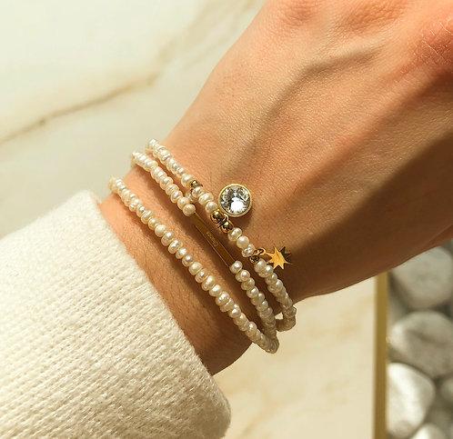 Bracelet triple perle
