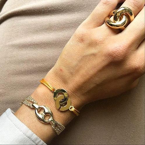 Bracelet grosse graine de café