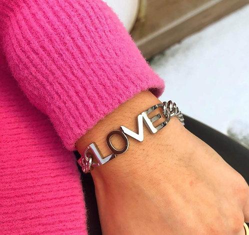 Bracelet chaine love