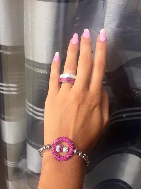Bracelet boucle hématite