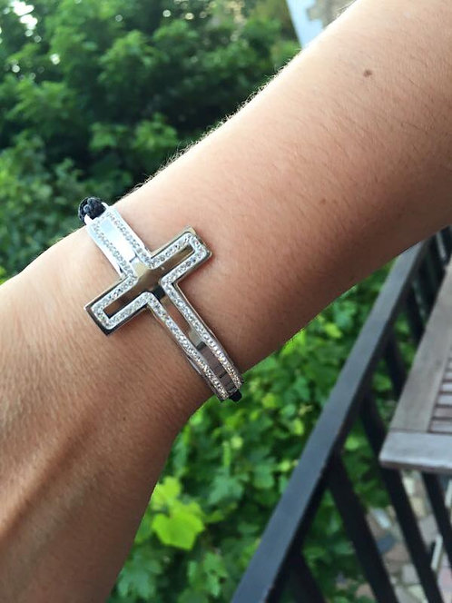 bracelet grande croix