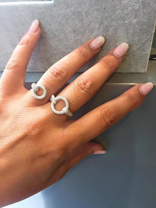 Bague double anneau