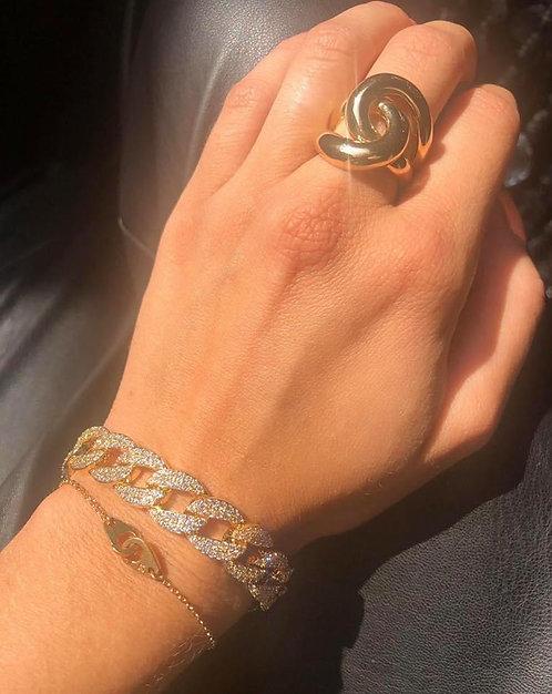 Bracelet menotte chaine