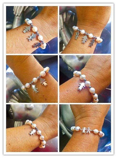 bracelet 3 personnages