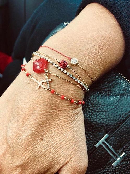 Bracelet  vc croix