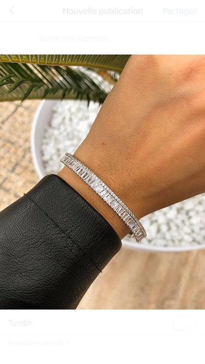 Bracelet multi cristaux