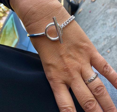 Bracelet argent chaine lien