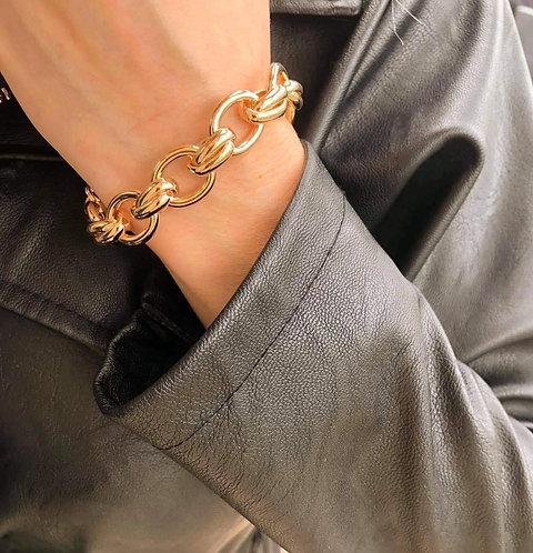 Bracelet grosse maille