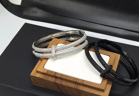 Bracelet jonc double