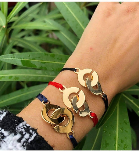 Bracelet lien rond