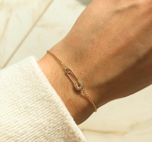 Bracelet petite épingle