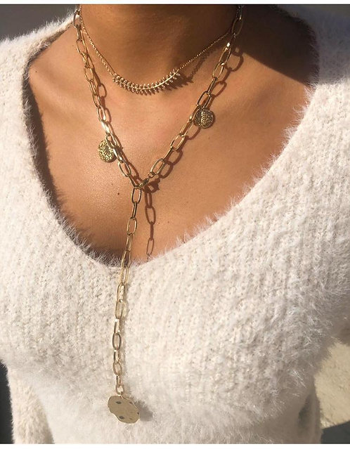 Collier mille feuilles