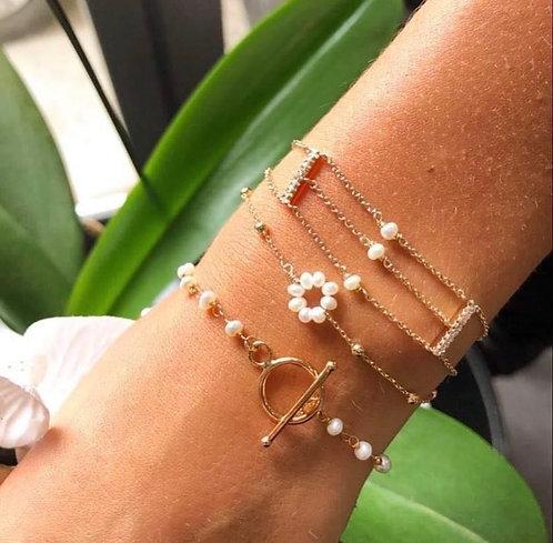 Bracelet perle lien
