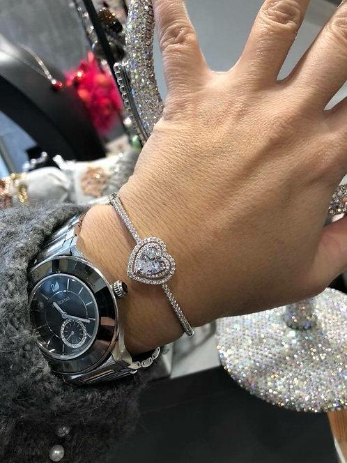 Bracelet cœur jonc