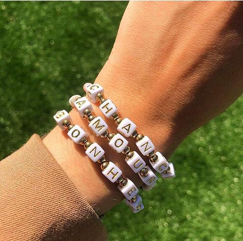Bracelet amour chance bonheur