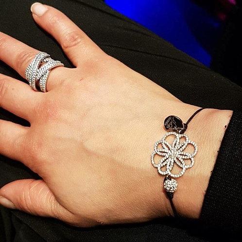 bracelet fil rosace