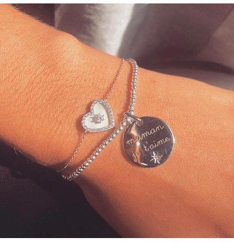 Bracelet maman je t'aime
