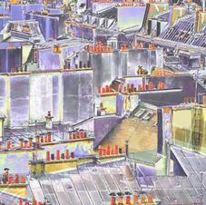 Pompidou Parapets