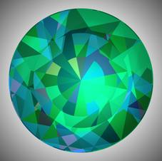 Cut Deep Emerald
