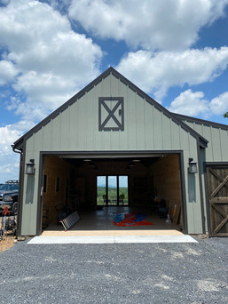 She-shed garage door