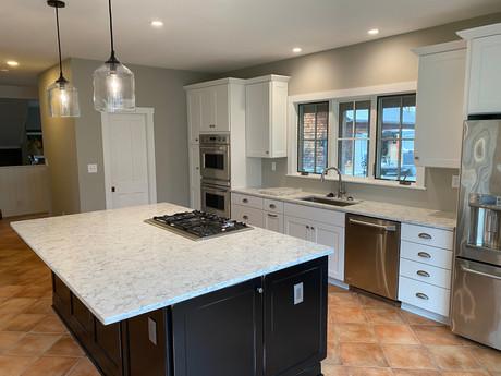 White Post kitchen remodel